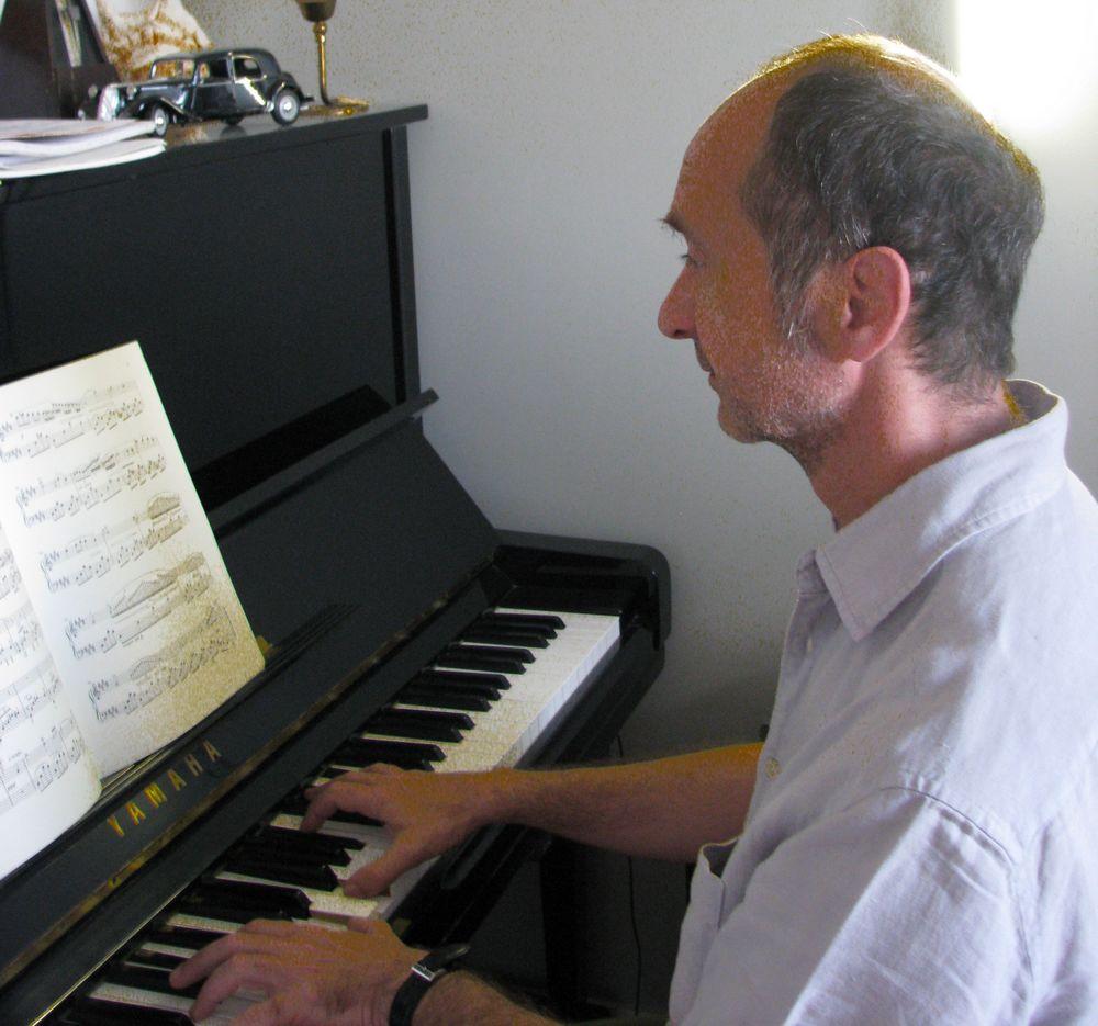 Patrick Issarni professeur de piano